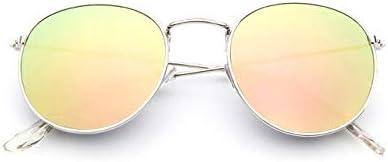 RJGOPL des lunettes de soleil luxo do vintage espelho designer de marque oculos de sol feminino/masculino classique rond ao ar livre oculos de sol uv400 oculos de sol lunettes C12