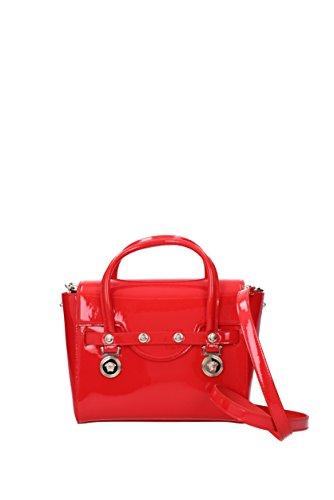 Borse a Mano Versace Donna - Vernice (DBFD703DVVRN) Rosso