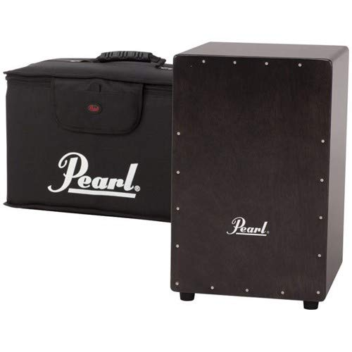 Pearl Black Primero Cajon with Carrying Bag! (Pearl Drum Bags)