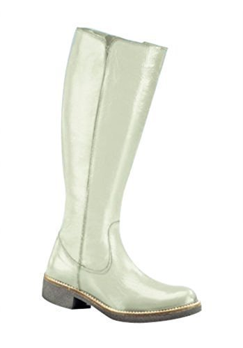 Ecru blanco Patent Women Leather in Ecru 0Xqq4HC1xw