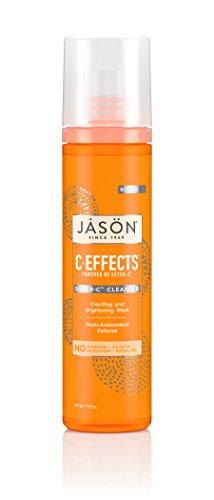 6 Oz Refreshing Gel Cleanser - JASON C-Effects Super-C Cleanser, 6 Ounce Bottles (Pack of 2)