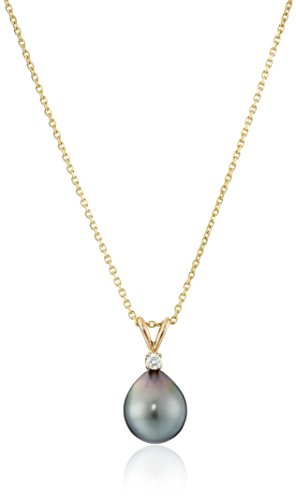 14k-Gold-AA-Quality-Tahitian-Cultured-Pearl-9-10-mm-and-Diamond-Accent-Necklace