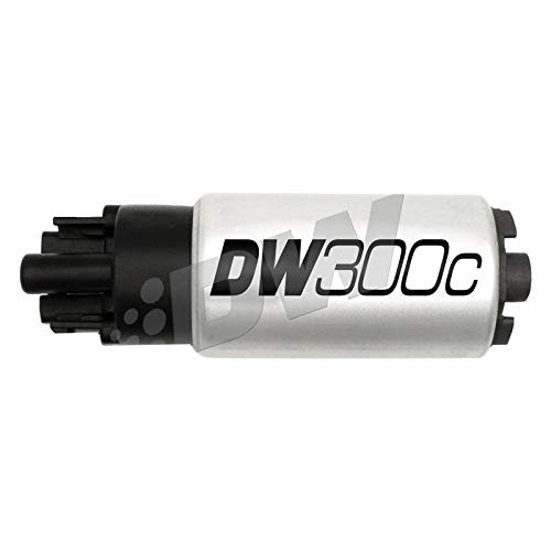 DeatschWerks 340lph DW300C Compact Fuel Pump w/ 12+ Scion FR-S/BRZ / 15 WRX Set Up Kit (9-307-1010)
