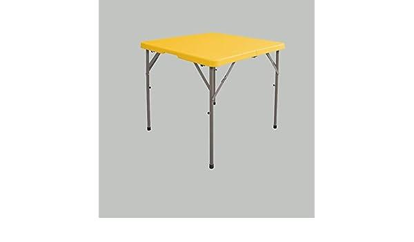 Table Mesa y sillas de Comedor Sencillas for el hogar Mesa pequeña portátil Mesa y sillas de Picnic con luz portátil al Aire Libre Shcro (Color : C): Amazon.es: Hogar