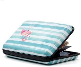 MDYHJDHYQ 1 Titular de la Tarjeta PC Card Flamingo RFID Caja de la Carpeta del Caso de Aluminio Tarjeta de Crédito ID Holder (Color : Flamingo, Size : Gratis): Amazon.es: Hogar