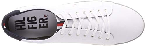 Tommy Hilfiger Uomo Scarpe H2285arlow 100 da 1d Ginnastica Bianco Basse White ACnAqwRFS