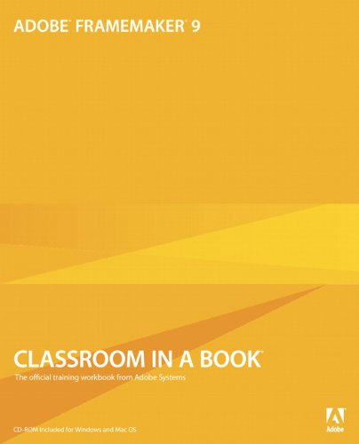 Adobe FrameMaker classroom in a book - PDF Free Download