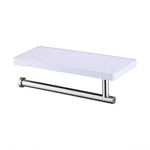KES Bathroom Towel Holder Hanger with Storage Shelf Organize