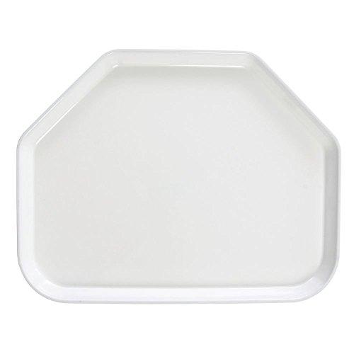 - Cambro Camtray Trapezoid White Fiberglass Tray -18