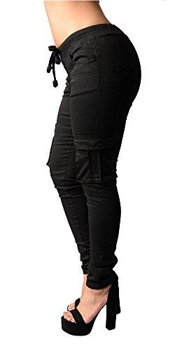 Outgobuy - Pantalón - para mujer negro