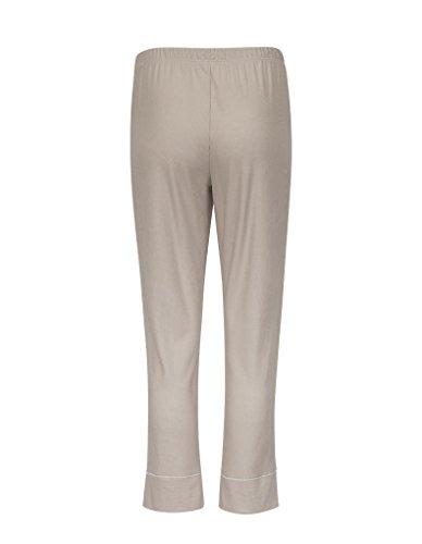 RÖSCH Femmes Pantalon de pyjama 1163667 Wellness loungewear sable 42