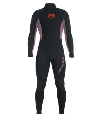 cad987bfc8 7mm Pinnacle Elastiprene Womens Super Stretch Scuba Wetsuit Ladies Dive  Suit Scuba Diving
