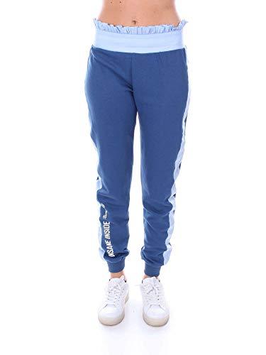 2344blue Pantalon Coton Bleu Numero00 Femme AP60qwg
