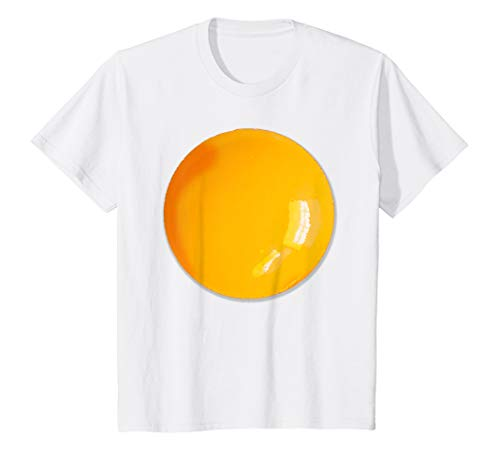 Kids Fried Egg Easy Halloween Costume T-shirt ()