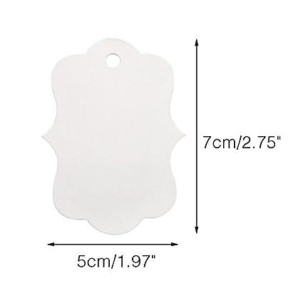 100 St/ück 5 CM*7 CM Braun Baumblatt Form kraftpapier Etiketten Tags H/ängeetiketten Anh/ängeetiketten mit Jute-Schnur 30 Meter Braun