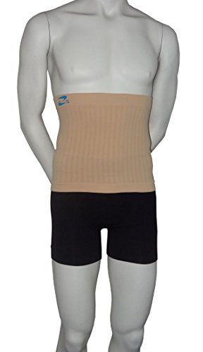 Containment Accessories (Girdle Shaping and containment body band for man (Nude, L/XL))