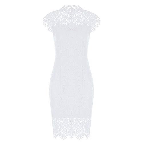 Linen Career Pant (Elegant Cocktail Dress Women's Sleeveless Lace Floral Crew Neck Knee Length)