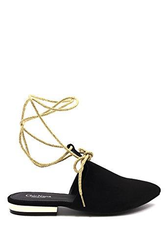CHIC NANA Women's Ballet Flats Black biDDLJbJ
