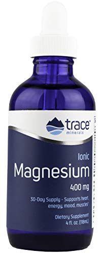 Trace Minerals Liquid Ionic Magnesium, 400 mg, 4 Ounce