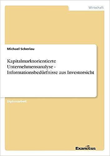 bachelor thesis unternehmensanalyse