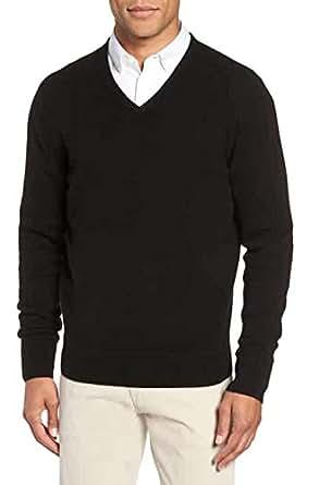 Joseph abboud Cashmere Sweater Mens Charcoal at Amazon Men