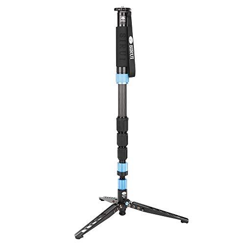 "Sirui P-224S 4-Section Carbon-Fiber Photo/Video Monopod, 17.6 lbs Capacity, 63"" Maximum Height"