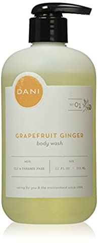 DANI All Natural Body Wash, Grapefruit Ginger, 12oz