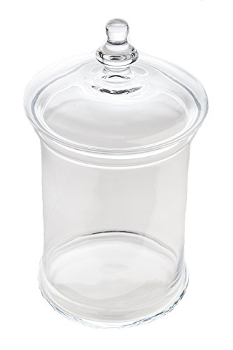 Abigails Medium Apothecary Jar with Lid by Abigails