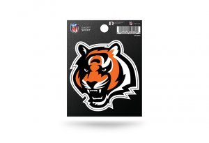 Rico Industries NFL Cincinnati Bengals Die Cut Team Logo Short Sport -