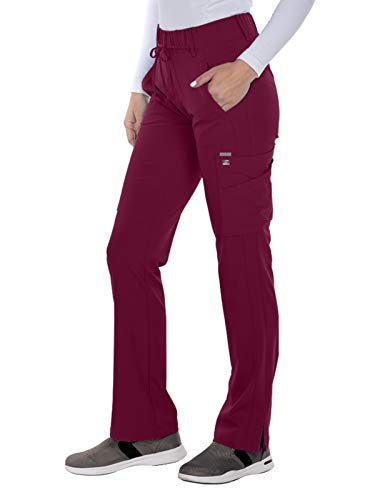Grey's Anatomy Signature 2218 Trouser Cargo Pant Wine 3XL