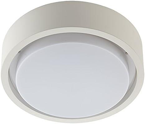 Prisma Multi + 30 Pc LED 16 W 3 K WH1 – Lámpara de pared y techo, Plástico, 16 W, color blanco, 32 x 8,45 cm