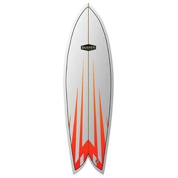 Tabla de Surf Buster Classic Retro Fish 6.4 Uni