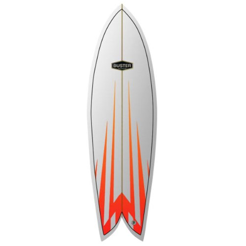 Tabla de Surf Buster Classic Retro Fish 6.4 Uni: Amazon.es ...