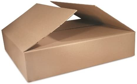 25-Count BS171305 The Packaging Wholesalers 17 x 13 x 5 Inches Shipping Boxes