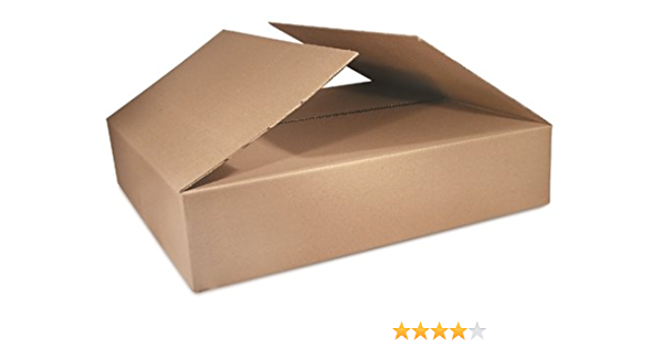 BS121208 25-Count The Packaging Wholesalers 12 x 12 x 8 Inches Shipping Boxes