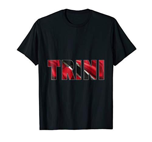 Trinidad shirt trini tee shirt flag color ()
