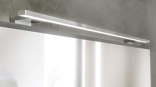 L mpara aplique led de espejo para ba o fortuna 80 x 10 x cm 9 6 w ebay - Lampara espejo bano ...