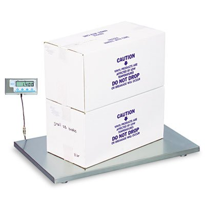 Salter-Brecknell PS500-36S Compact Light Weight Floor Scale with LCD Display, 36'' Length x 22'' Width x 2'' Height, 500lbs Capacity by Salter Brecknell