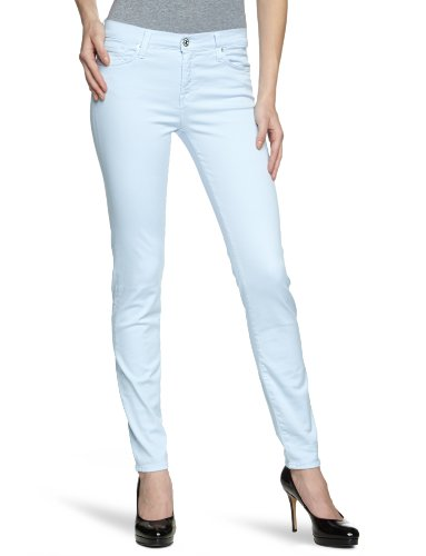 7 for all mankind SWTM700 - Vaqueros para mujer Sky Gray