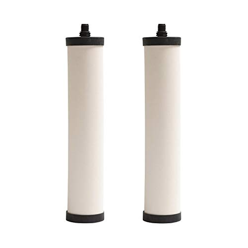 2 Pack - Franke Triflow Compatible Filter Cartridges By Doulton M15 Ultracarb (NO Import Duty or Taxes to pay on this product) (Filter Ceramic Cartridge)