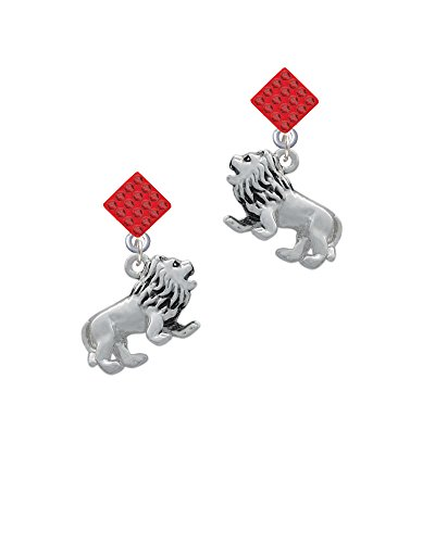 3-D Lion - Red Lulu Diamond-Shaped (Red Lion Diamond)