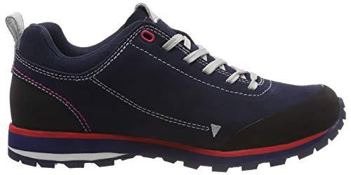 Basses Elettra Cmp black Low N950 Randonnée Femme Bleu Chaussures De Blue Xq7Pdq