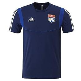 Olympique Lyonnais T-Shirt Entrainement Bleu Adidas 19/20