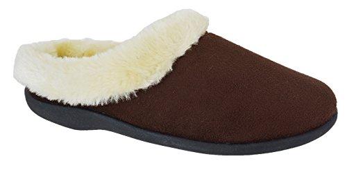 Générique - Sandalias de vestir para mujer marrón