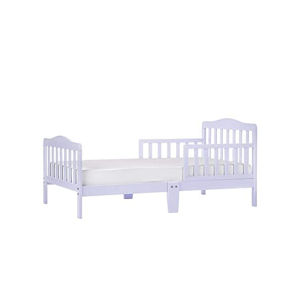 Dream On Me Classic Design Toddler Bed, Lavender Ice
