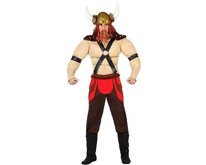Atosa - 22836 - Disfraz - Disfraz de vikingo hombre - Adulto ...