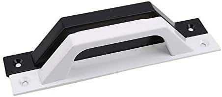 Color: Black High-Strength Aluminum Alloy Sliding Door Handle Wall Mounted Plastic Steel Balcony Door Sliding Window Small Handle Door Wooden
