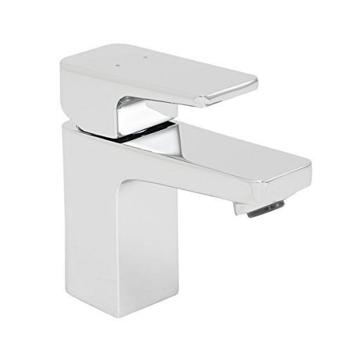 Speakman SB-2401 Kubos Single Lever Handle Bathroom Faucet - Replacement Faucet for Single Hole Sink, Polished Chrome