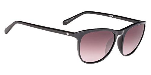 Spy Optics Cameo Wrap Sunglasses, Black/Happy Merlot Fade, 1.5 mm