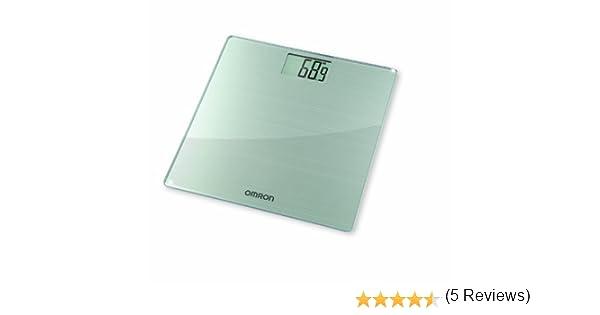 OMRON HN288 - Báscula digital de cristal, transparente: Amazon.es: Salud y cuidado personal
